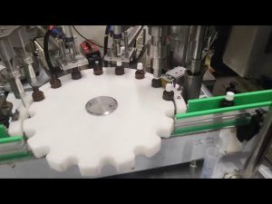 мала машина за пуњење течних боца