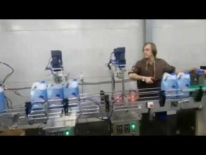 линија аутоматског антикорозивног средства за чишћење вц-а за дезинфекцију текућих избељивача