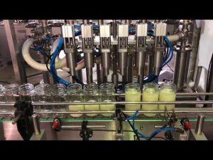 врућа аутоматска машина за пуњење биљним јестивим уљем