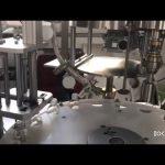 аутоматска машина за прикључивање и затварање боца са течним управљањем плц-ом