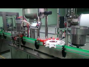 Аутоматска машина за пуњење и затварање пекмеза од 4 главе