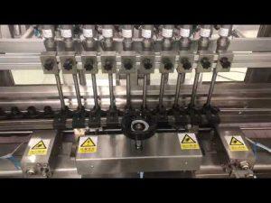 течна алкохолна крема линеарна машина за пуњење, посуда са медом у малим бочицама пунило са уљем