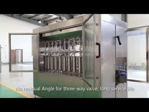 Аутоматски клип кућне љубимце стаклене боце уље течно пуњење линија за етикетирање етикетирање линија машина