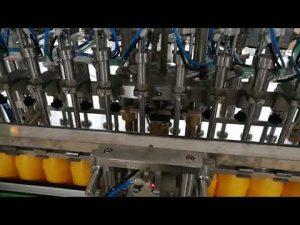 Аутоматска машина за пуњење боца од 12 глава за козметику са умаком од кечапа