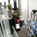 двострука бочна и округла боца са аутоматском машином за етикетирање