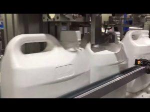 аутоматска машина за пуњење текућина и врхња са 4 млазнице