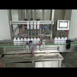аутоматска машина за пуњење боца са течним пастама за течни сапун, лосион за тело, шампон