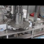 аутоматска ротациона машина за затварање пластичне боце са једном главом
