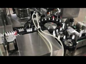 фармацеутска машина за затварање капи за очи за малу бочицу од 20 мл