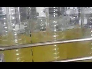 аутоматска машина за пуњење јестивих уља у боце