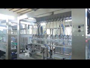 фабричка аутоматска машина за пуњење боца са уљем са линеарним вискозним течним јестивим уљем
