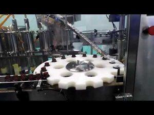 машина за пуњење и затварање уљног хлороводоничне киселине хдпе темпломмера за мерење протока и заптивања